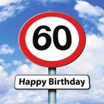 Verjaardagswensen 60 jaar